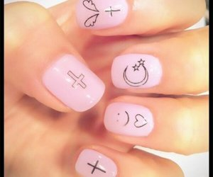 cross, pink, and cute image