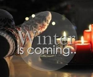 winter, cold, and coming image