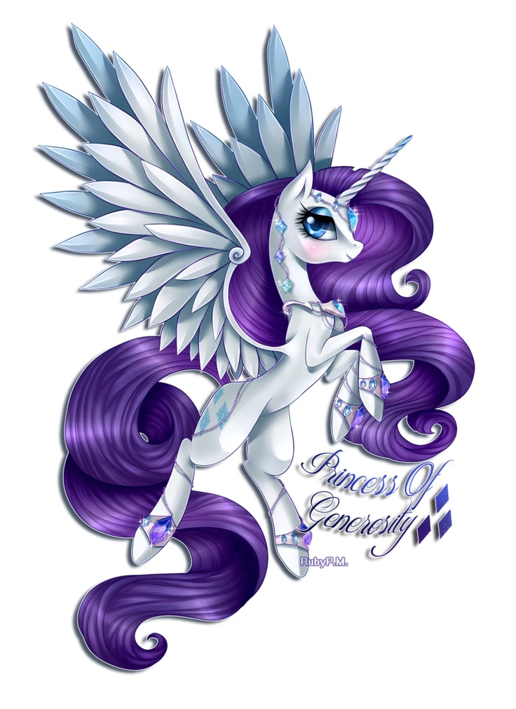 Mlp Princess Rarity My Little Pony On We Heart It