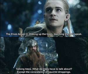 Legolas, lord of the rings, and gimli image