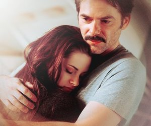 bella, twilight, and charlie swan image