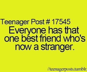 teenager post, strangers, and best friends image