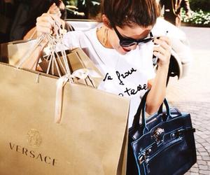 selena gomez, selena, and shopping image