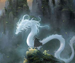 dragon and white image