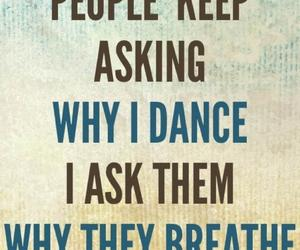 dance, dancer, and why i dance image