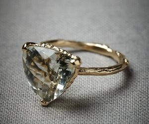 jewelry, gold, and ring image