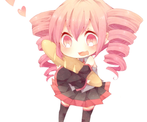 anime, vocaloid, and chibi image