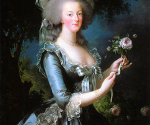 marie antoinette and rose image