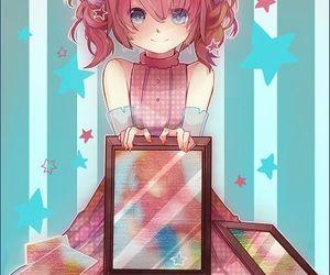 anime, pink hair, and kasane teto image