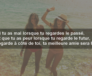 best friend, francais, and quotes image