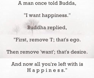 Buddha, happiness, and quote image