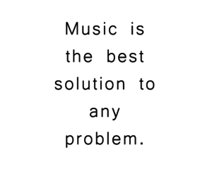 music, problem, and quote image