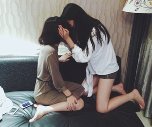 girl, asian, and lesbian image