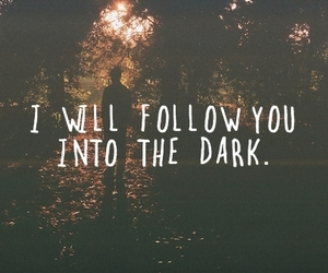 dark, quotes, and follow image