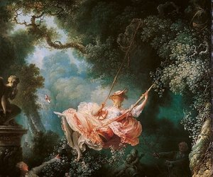 art, painting, and rococo image