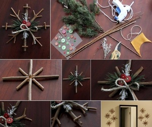 christmas, crafts, and decoration image