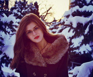 beautiful, clothes, and cold image