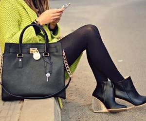 black tights, fashion blogger, and gorgeous image