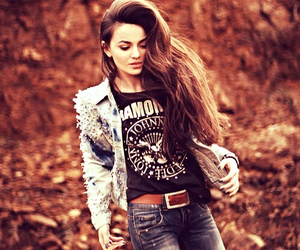 hair, ramones, and jeans image
