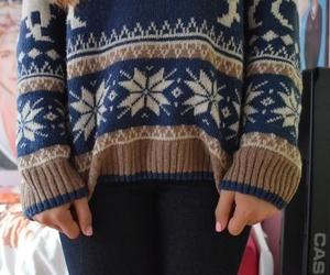 sweater, tumblr, and fashion image
