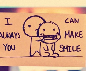 smile, friends, and quotes image