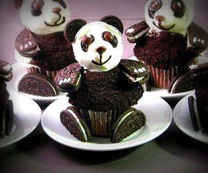 cake, panda, and Rico image