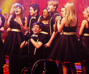 glee, new directions, and regionals image