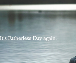 fathersday and fatherless image