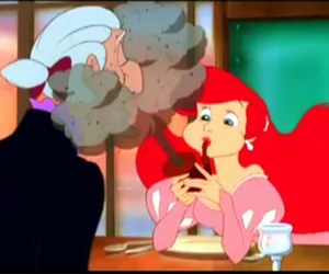 ariel, disney, and cute image