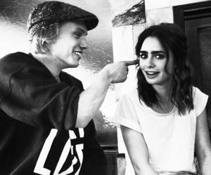 the mortal instruments, jace, and lily collins image