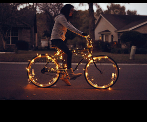 light and bike image