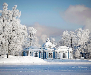 snow, winter, and russia image