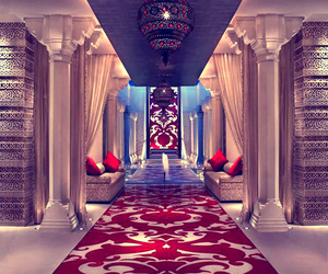 luxury, red, and interior image