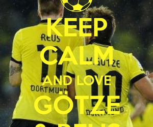 gotze and reus. image