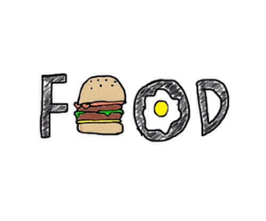food text image