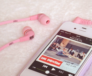 one direction, music, and story of my life image