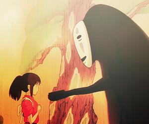 anime, japanese, and spirited away image