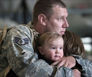family, love, and soldier image