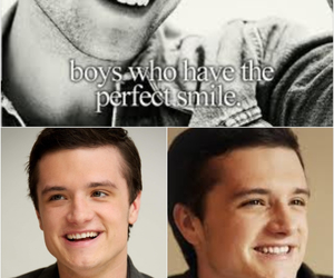 boys, smile, and hunger games image
