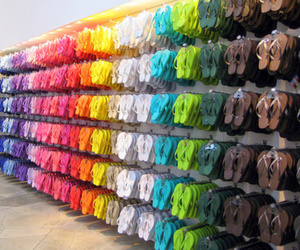 colorful, photography, and slippers image