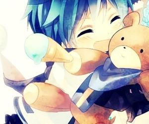 kaito, kawaii, and teddybear image