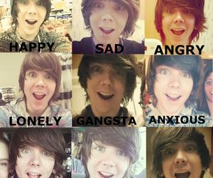angry, boy, and youtube image