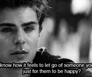 zac efron, cry, and sad image