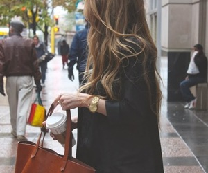 bag, fall, and outfit image
