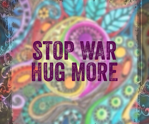 hippie, hug, and quote image