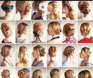 beautiful, braid, and medium image