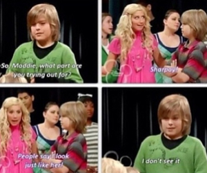sharpay, ashley tisdale, and funny image