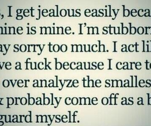 jealous and stubborn image