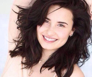 demi lovato, no make-up, and lovatic image