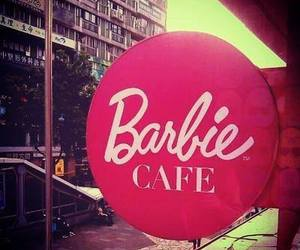 barbie, cafe, and girly image